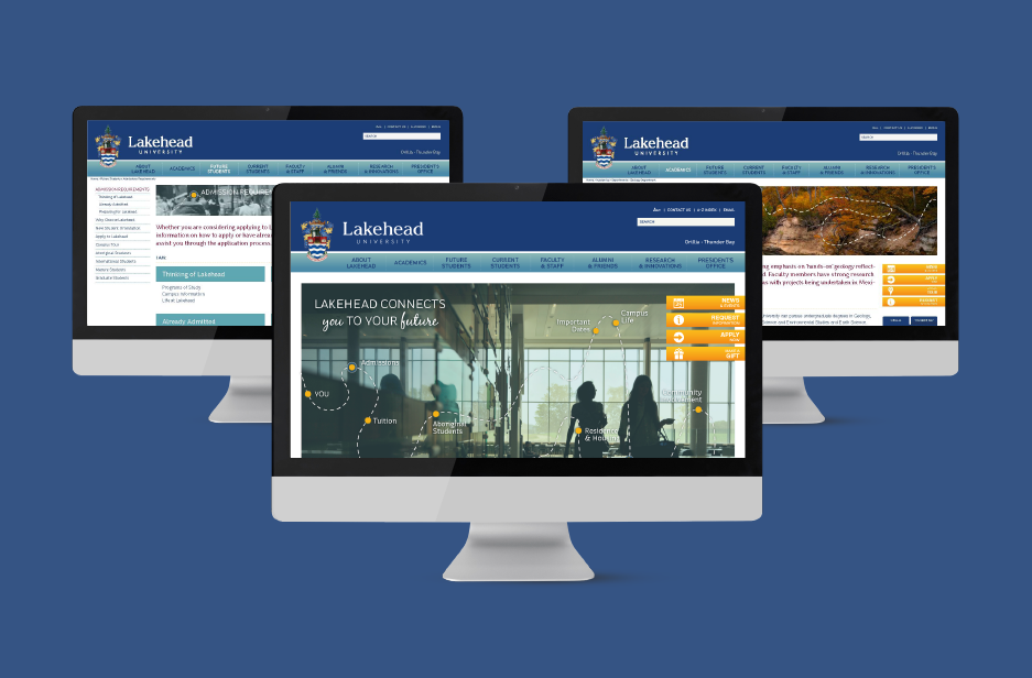 Lakehead University UX Web Design
