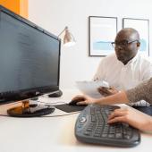 Web usability testing by Akendi